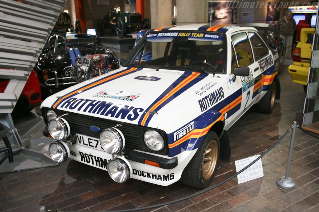 Ford Escort RS    - British National Motor Museum Visit