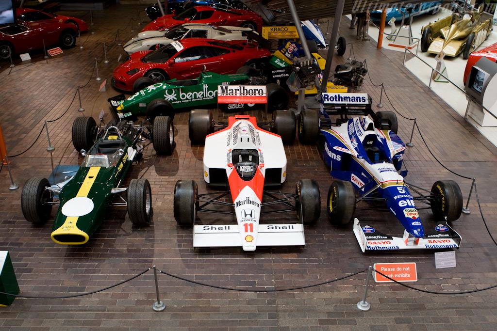 Formula 1 Cars    - British National Motor Museum Visit