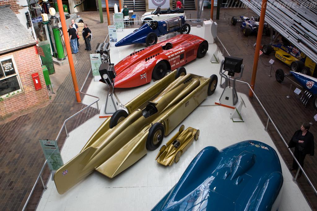 Golden Arrow    - British National Motor Museum Visit