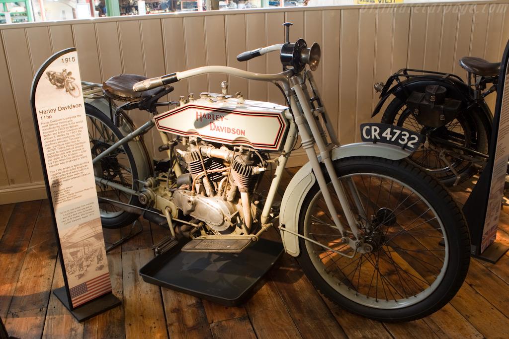 Harley-Davidson 11hp    - British National Motor Museum Visit