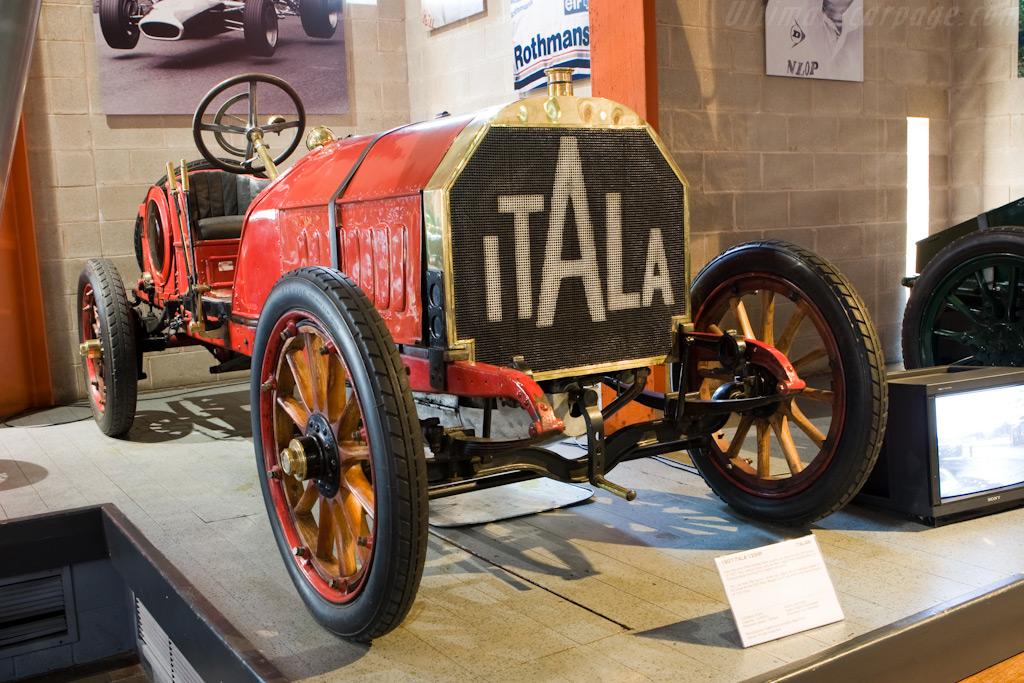 Itala 120hp    - British National Motor Museum Visit