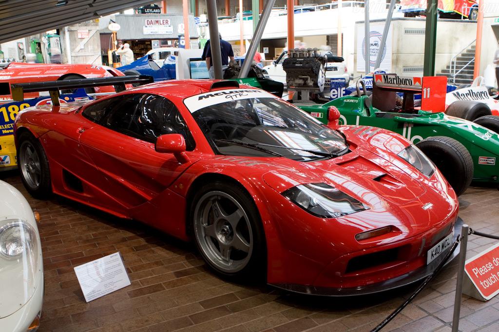 McLaren F1 GTR - Chassis: 10R   - British National Motor Museum Visit