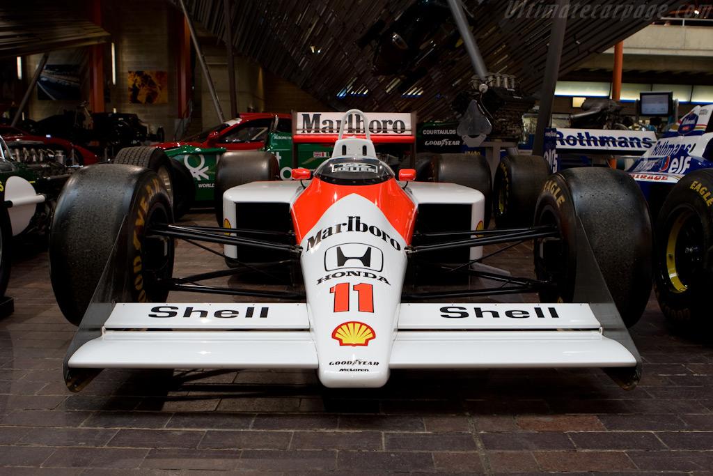 McLaren MP4/4 Honda - Chassis: MP4/4-1   - British National Motor Museum Visit
