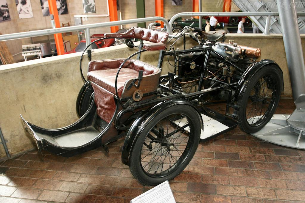 Royal Enfield Quadracycle    - British National Motor Museum Visit