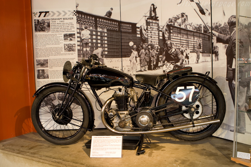 Rudge Whitworth    - British National Motor Museum Visit