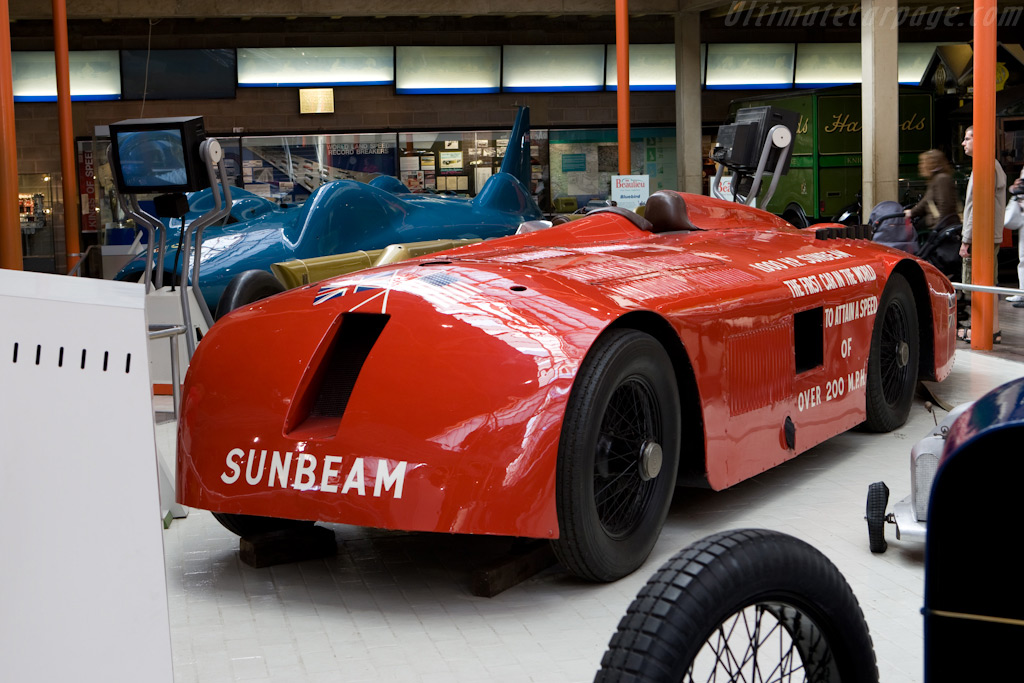 Sunbeam 1000hp    - British National Motor Museum Visit