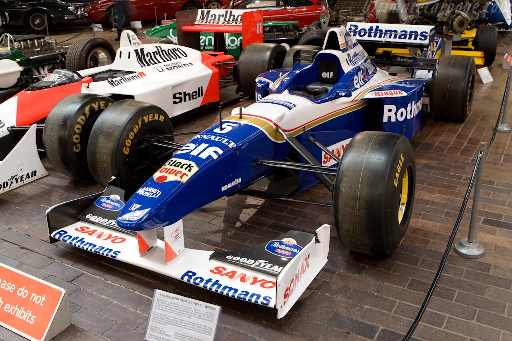Williams FW18 Renault    - British National Motor Museum Visit
