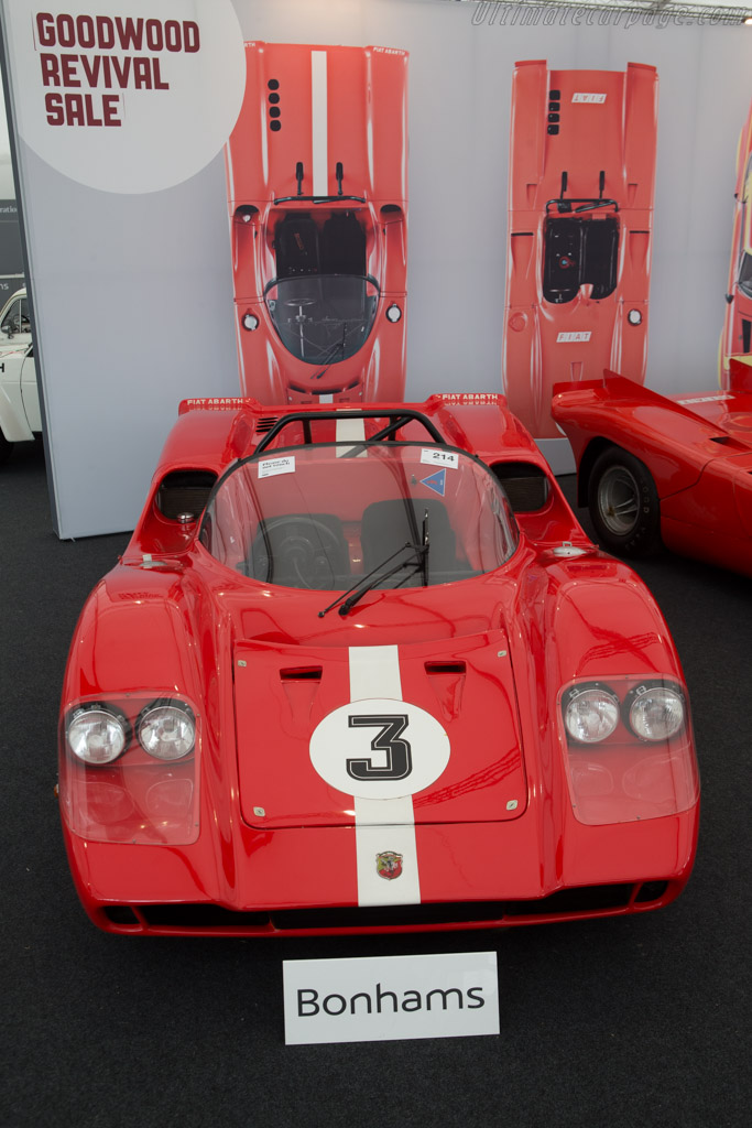 Abarth SE010 Sport Spider - Chassis: SE010/040   - 2014 Goodwood Revival