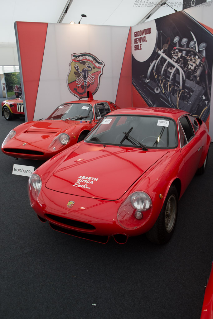 Abarth Simca 2000 GT Corsa - Chassis: 136.0056   - 2014 Goodwood Revival