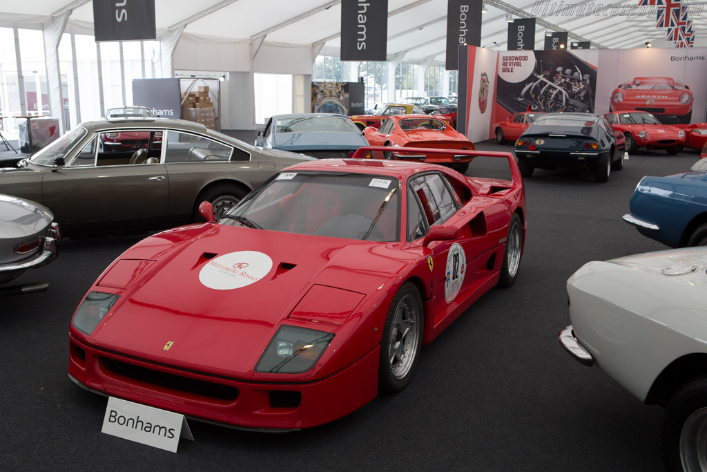 Ferrari F40 - Chassis: 89460   - 2014 Goodwood Revival