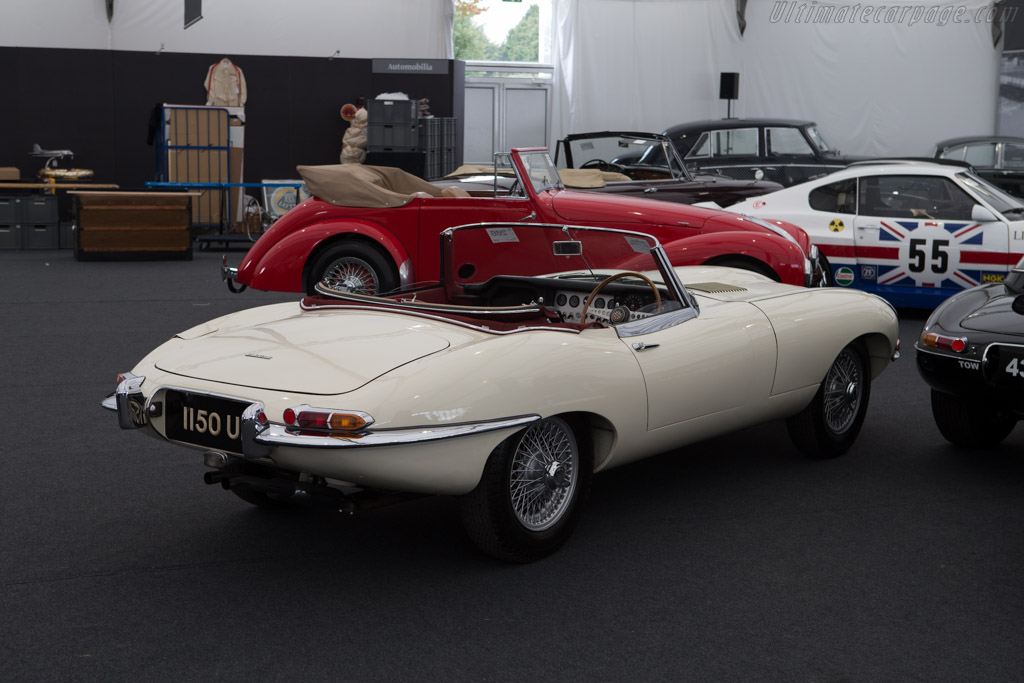 Jaguar Type E >> Jaguar E-Type 3.8 Litre Roadster - Chassis: 850102 - 2014 Goodwood Revival