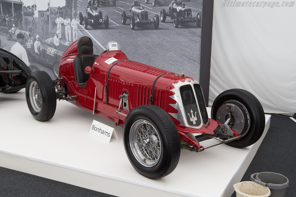 Maserati 4CM - Chassis: 1120   - 2014 Goodwood Revival