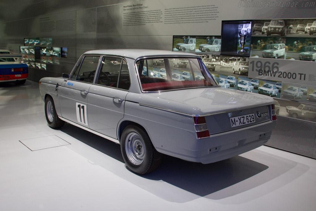 BMW 2002 TI   - The BMW Museum