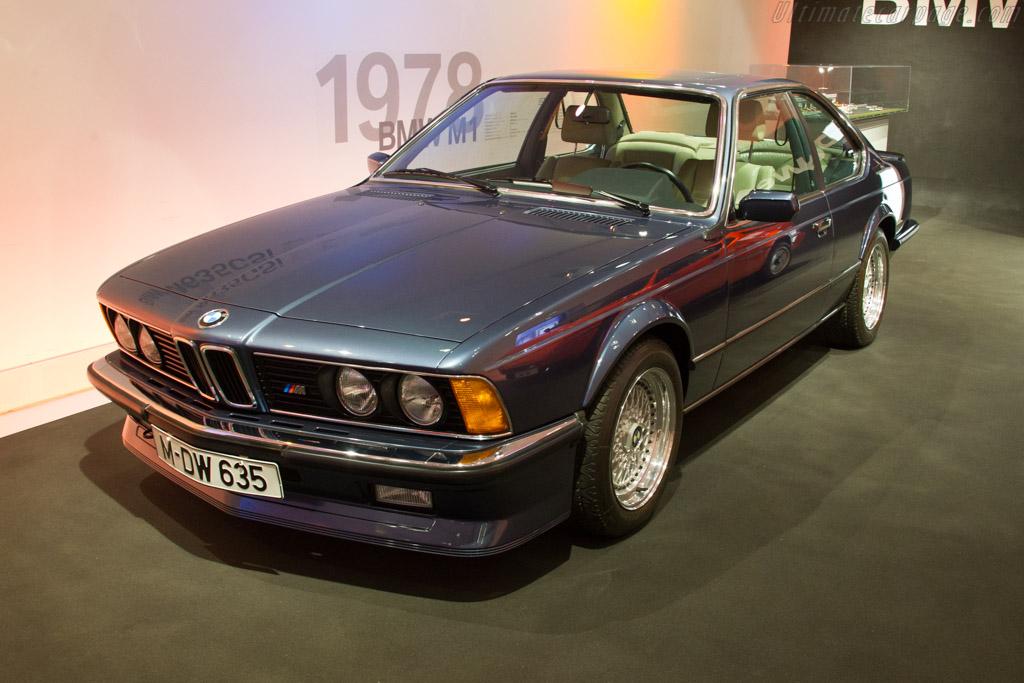 BMW M 635 CSi    - The BMW Museum