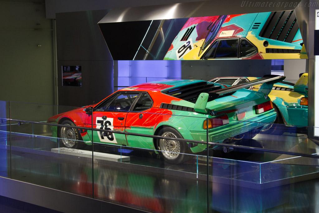 BMW M1 Warhol    - The BMW Museum