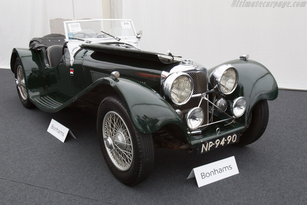Jaguar SS 100 3.5 - Chassis: 39064  - 2016 Goodwood Festival of Speed