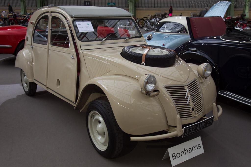 Citroën 2CV Sahara - Chassis: 0332   - 2016 Retromobile