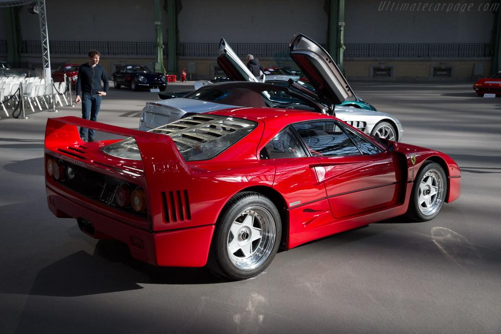 Ferrari F40 Chassis 87784 2016 Retromobile