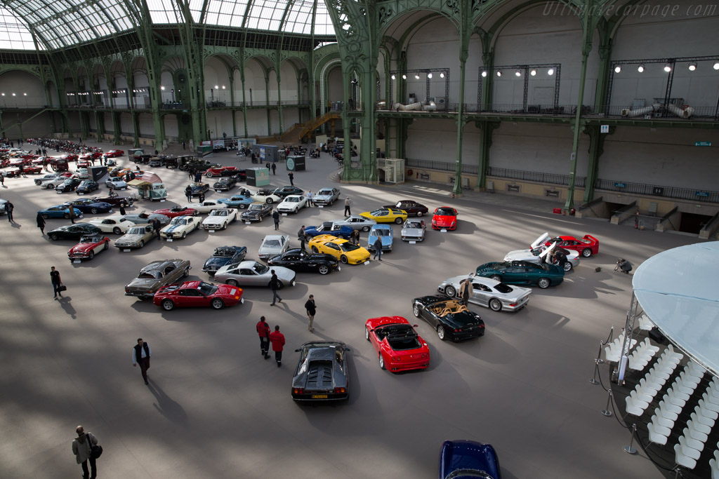 Welcome to the Grand Palais    - 2016 Retromobile