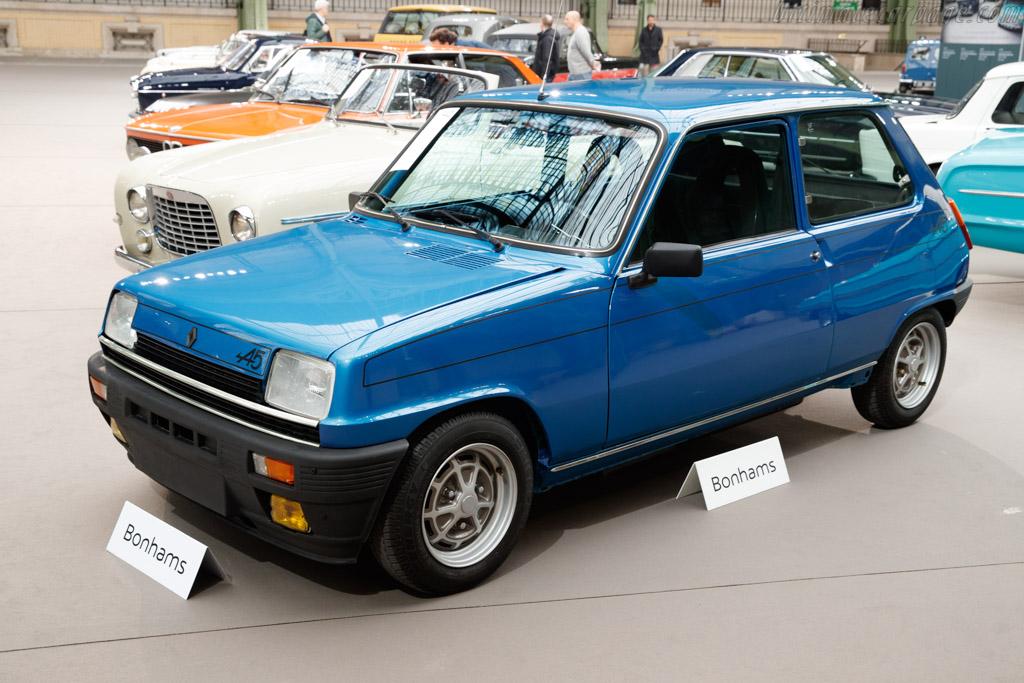 Renault 5 Alpine - Chassis: R1223/7637319  - 2019 Retromobile