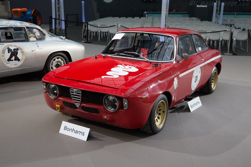 Alfa Romeo 1300 GTA Junior 54733 on alfa romeo chassis