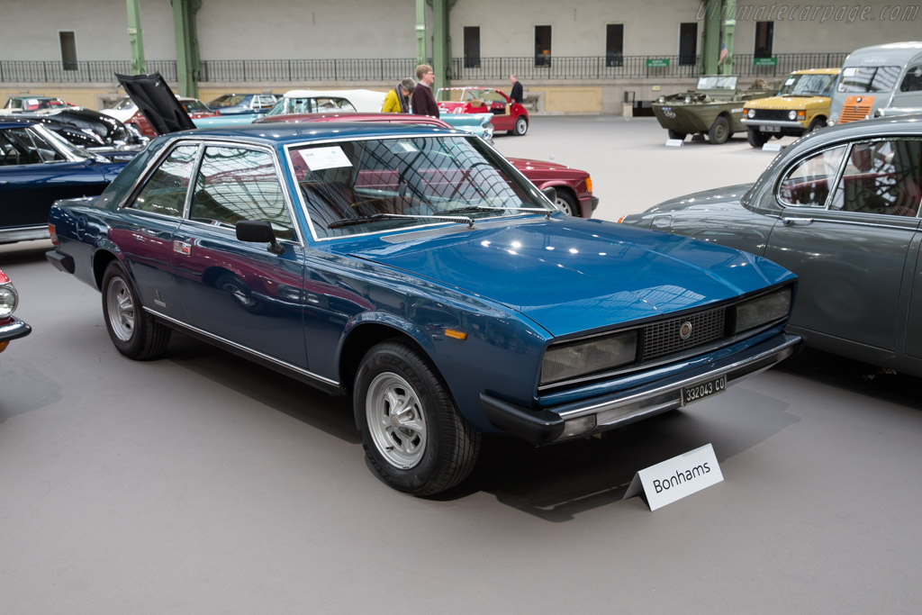 Fiat 130 Coupe - Chassis: 000204   - 2017 Retromobile