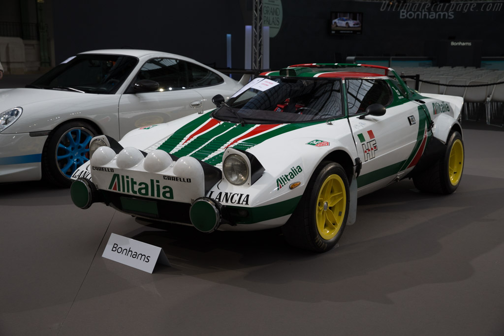 Lancia Stratos Group 4 - Chassis: 829AR0 001827   - 2017 Retromobile