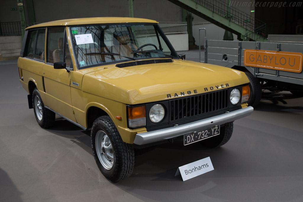 Land Rover Range Rover - Chassis: 35838914D   - 2017 Retromobile