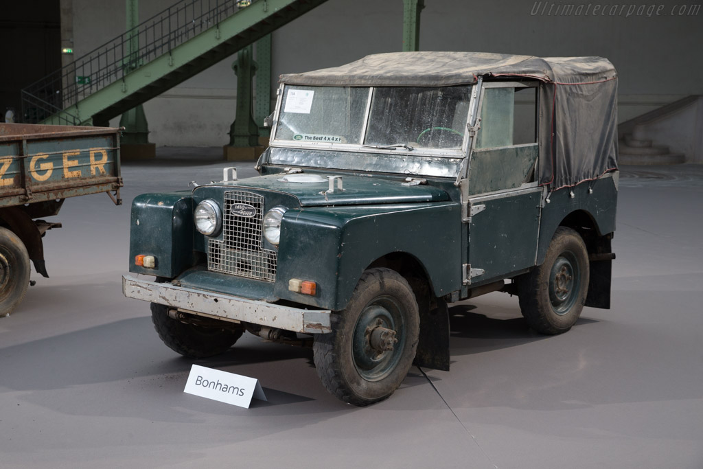 Land Rover Series I - Chassis: CC9999   - 2017 Retromobile
