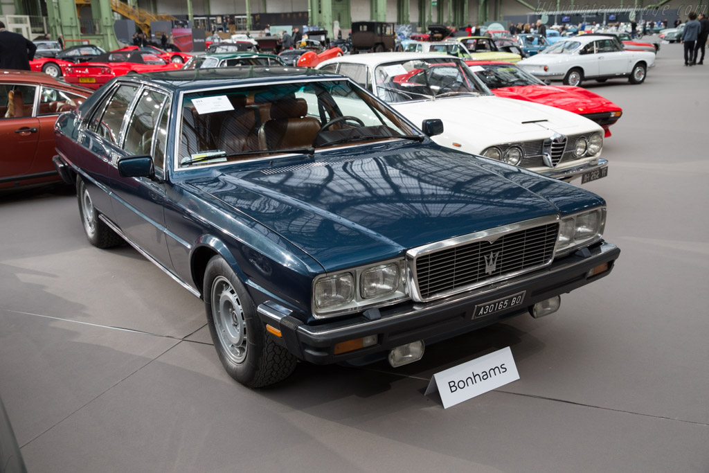 Maserati Quattroporte III - Chassis: AM330 493520   - 2017 Retromobile