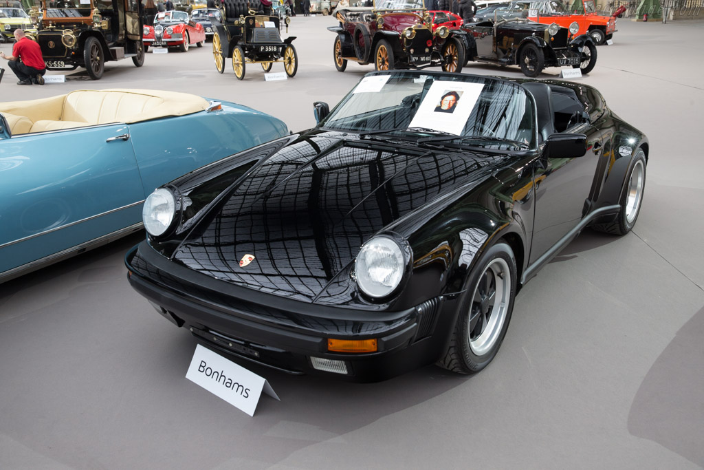 Porsche 911 Carrera 3 2 Speedster Chassis Wp0zzz91zks173434 2017 Retromobile
