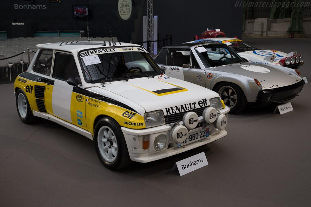Renault 5 Turbo Tour de Corse - Chassis: VF1822004D0000016   - 2017 Retromobile