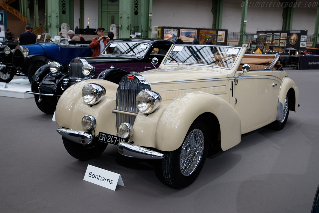 Bugatti Type 57 C Gangloff Cabriolet - Chassis: 57836  - 2020 Retromobile