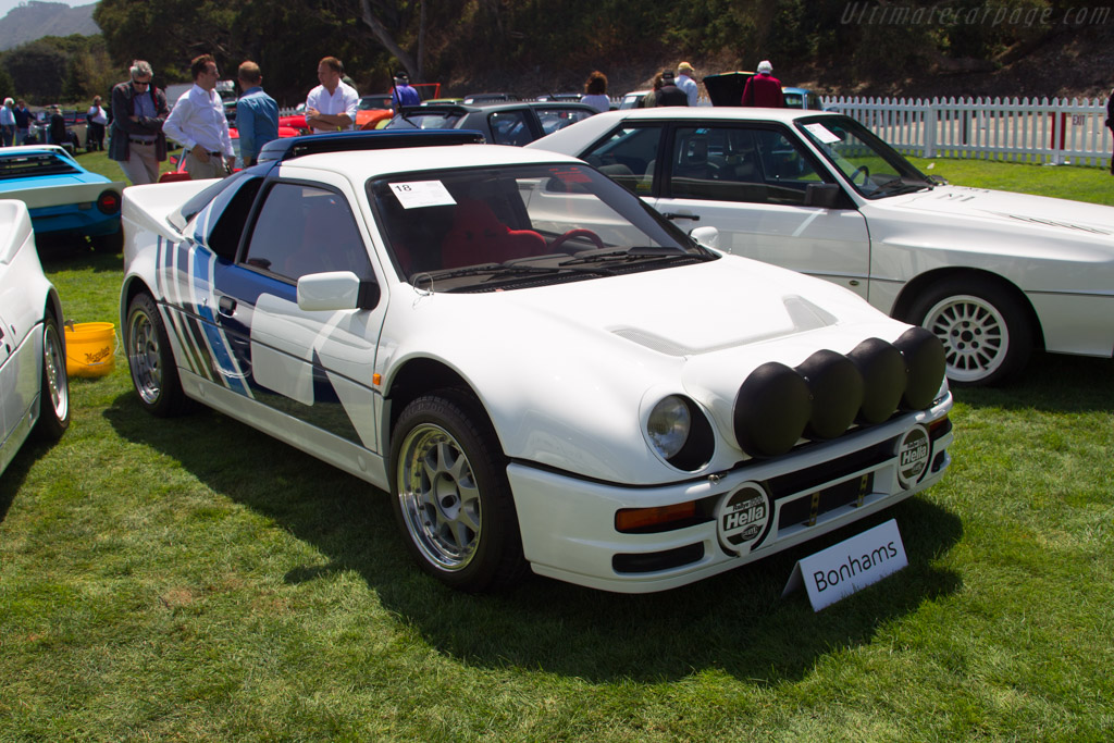 Ford RS200 Evolution - Chassis: SFACXXBJ2CGL00084   - 2017 Monterey Auctions