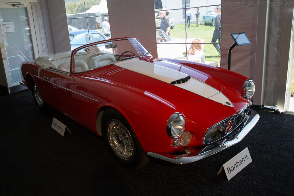 Maserati A6G/54 Frua Spider - Chassis: 2180   - 2017 Monterey Auctions
