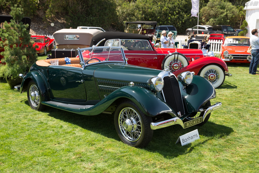 Talbot Lago T120 Figoni Sports Cabriolet - Chassis: 85722   - 2017 Monterey Auctions