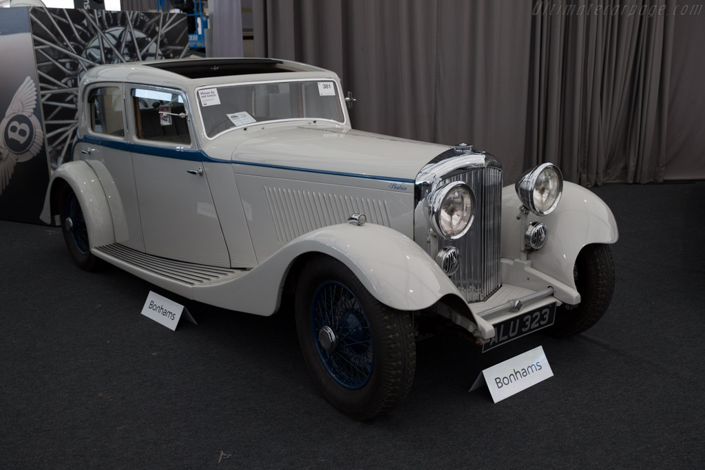 Bentley 3½ Park Ward Sports Saloon - Chassis: B-15-AE   - 2015 Goodwood Revival