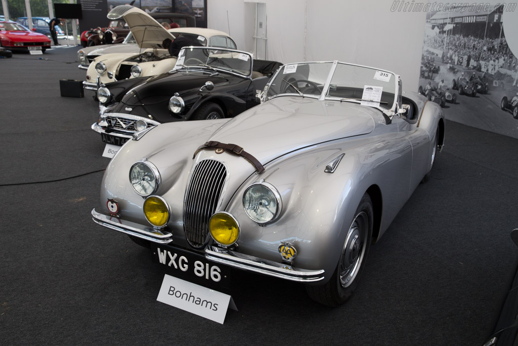 Jaguar XK120 - Chassis: 670061   - 2015 Goodwood Revival