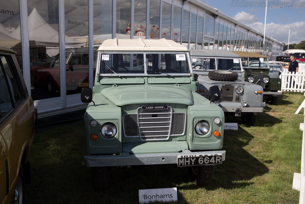 Land Rover Series III    - 2016 Goodwood Revival
