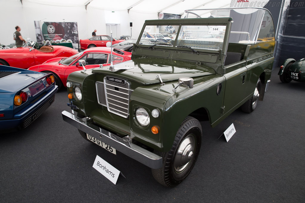 Land Rover Series III - Chassis: 91184307C   - 2016 Goodwood Revival