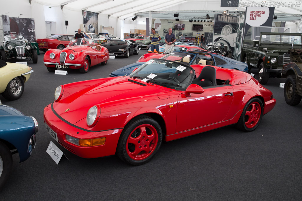 Porsche 911 Speedster 2016 Goodwood Revival