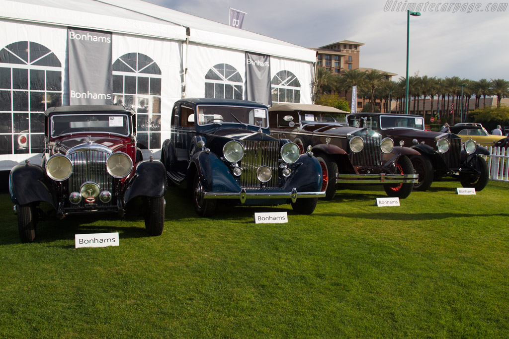 Bentley 3½-Litre Park Ward Sports Saloon - Chassis: B-24-CR   - 2017 Scottsdale Auctions