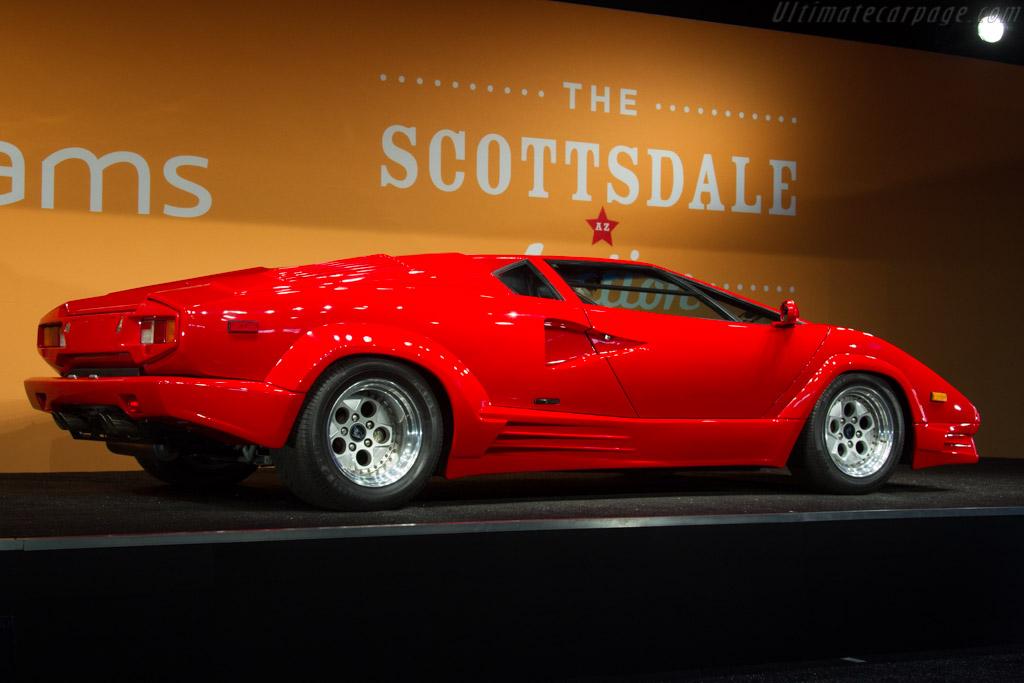 Lamborghini Countach 25th Anniversary Chassis Kla12699 2017 Scottsdale Auctions