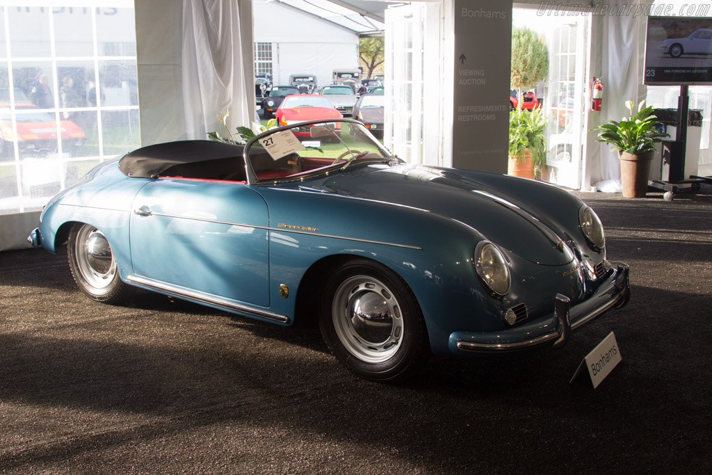 Porsche 356A Speedster - Chassis: 82601   - 2017 Scottsdale Auctions