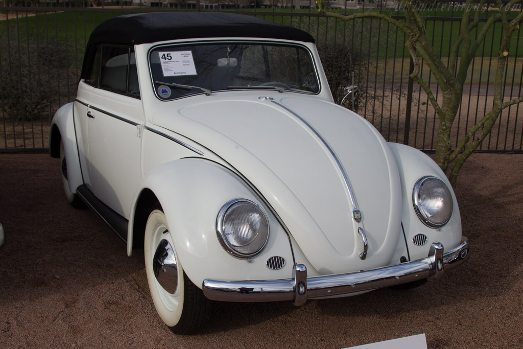 Volkswagen Type 1 Beetle Cabriolet - Chassis: 1575247   - 2017 Scottsdale Auctions
