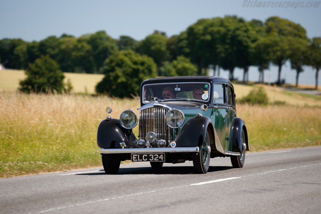 Bentley 3¼-Litre Egerton Saloon  - Entrant: François Cointreau - 2019 Chantilly Arts & Elegance