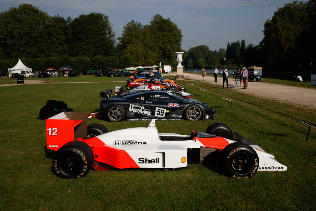 McLaren MP4/4 Honda - Chassis: MP4/4-1 - Entrant: McLaren Racing Ltd - 2019 Chantilly Arts & Elegance