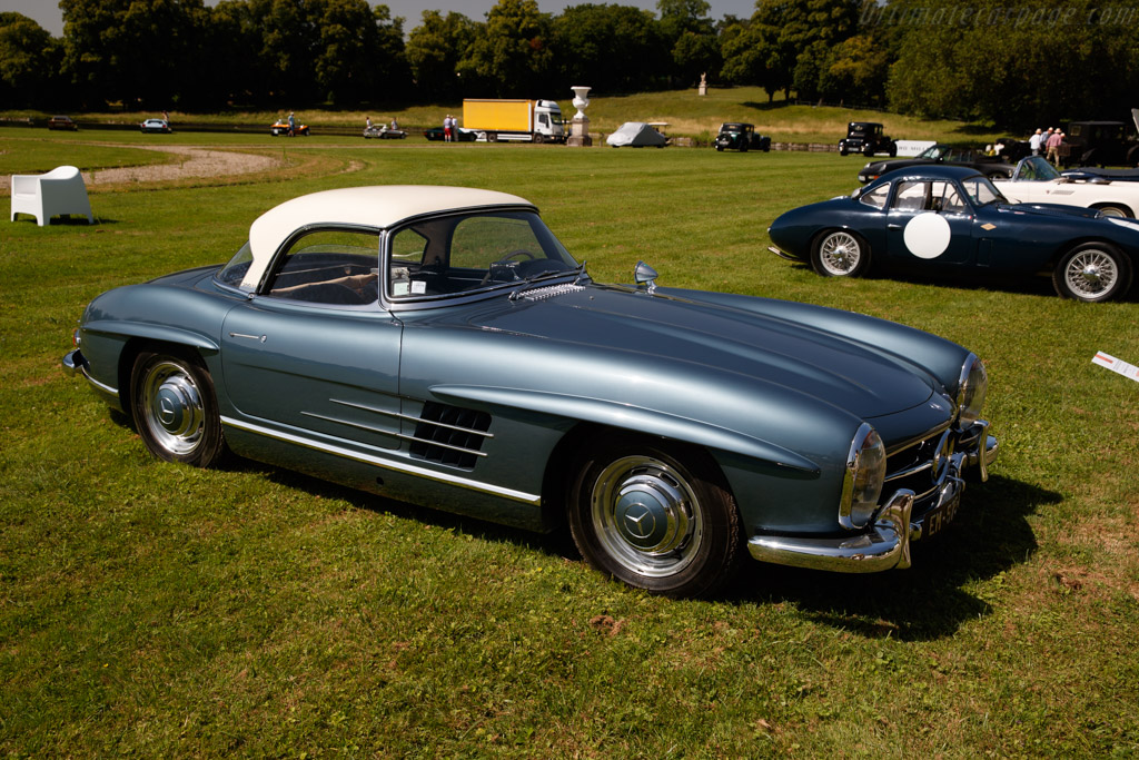 Mercedes-Benz 300 SL Roadster - Chassis: 198.042.8500275 - Entrant: Frédéric Leroux  - 2019 Chantilly Arts & Elegance