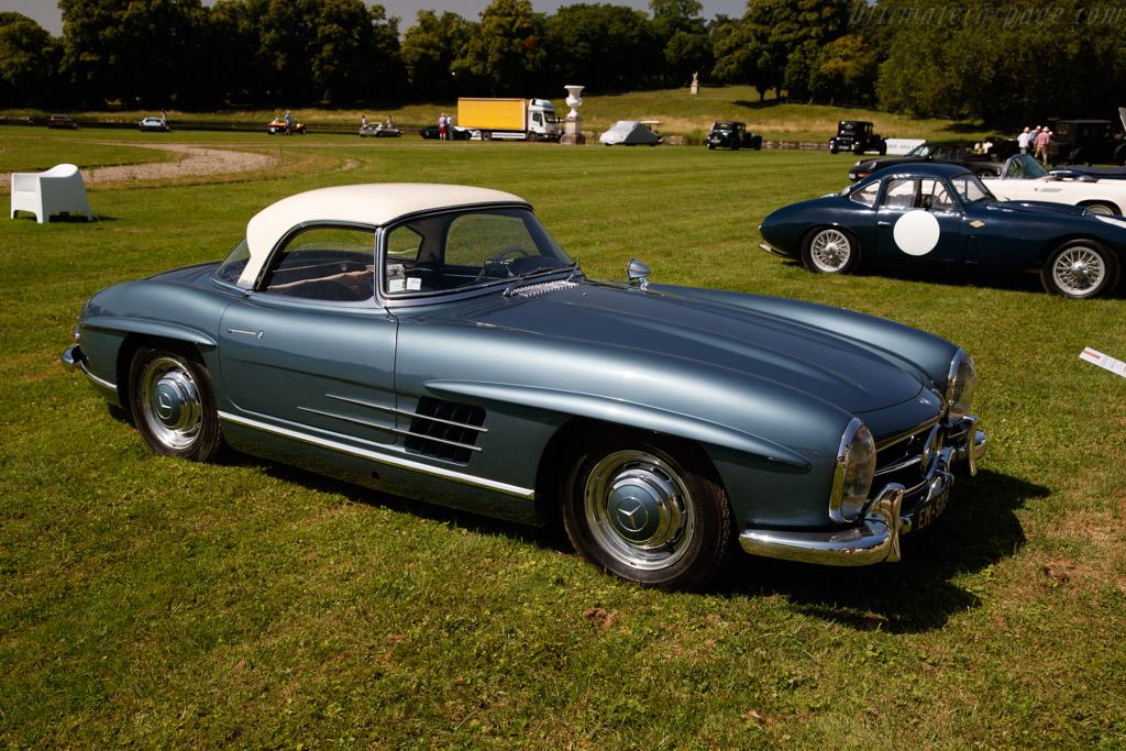 Mercedes-Benz 300 SL Roadster - Chassis: 198.042.8500275 - Entrant: Frédéric Leroux - 2019 Chantilly Arts & Elegance