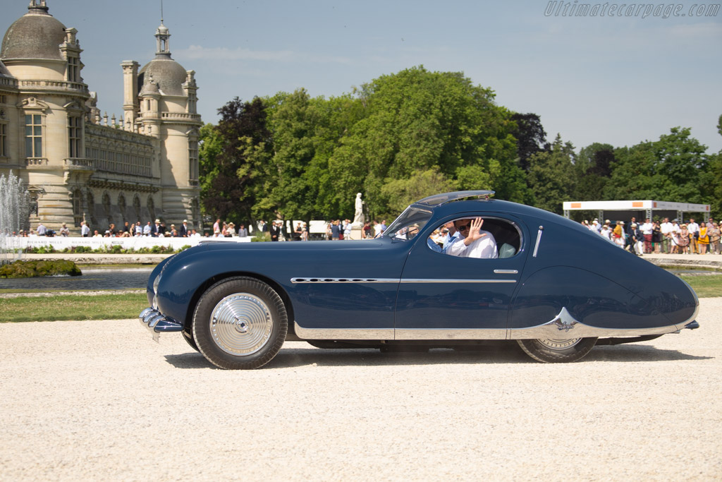 Talbot Lago T26 GS Figoni & Falaschi Coupe - Chassis: 110103 - Entrant: Robert & Frantisek Kudela - 2019 Chantilly Arts & Elegance